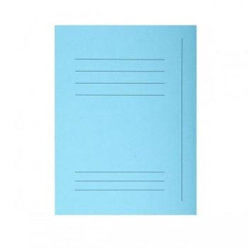 Pack de 50 subcarpeta impresa de cartulina 3 solapas SUPER  210 gr 5 col. Azul claro
