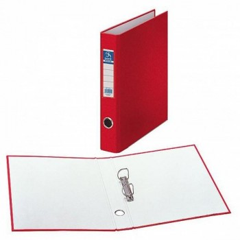Carpetas 2 anillas mixtas 40 mm folio rojo