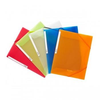 Pardo Carpeta polipropileno con solapas Studio Style naranja