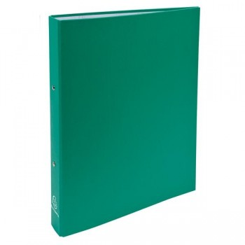 Exaclair Carpeta forrada 4 anillas 30mm verde