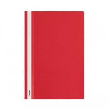 Dohe Dossiers fástener pp lomo personalizable A4 rojo