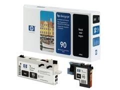 HP Cabezal inkjet C5054A negro Nº90 original cabezal+limpiador