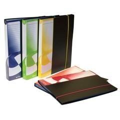 Carpeta fundas tapas rígidas lomo personalizable 100 Fundas folio negro