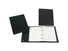 GRAFOPLAS Listin telefonico BASIC 4 anillas cuarto negro