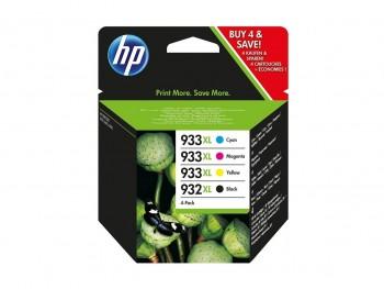HP Pack de 4 cartuchos inkjet C2P42AE original Nº932XL/933XL