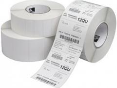 ZEBRA Rollo etiqueta termica 57x51mm mate adhesivo permanente (1370 etiquetas/rollo)