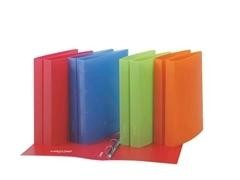 Carpeta pp extra Studio style2 anillas 25mm folio rojo
