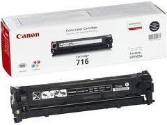 CANON Toner laser 716 NEGRO original (2,3k)