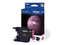 BROTHER Cartucho inkjet LC-1220M original (300pag) MAGENTA