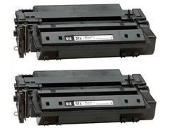 HP Toner laser Q7551XD negro original (13k) PACK-2