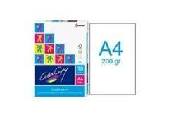Pack 250h papel color copy 200gr A4