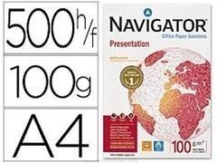 Pack 500h papel navigator 100gr A4