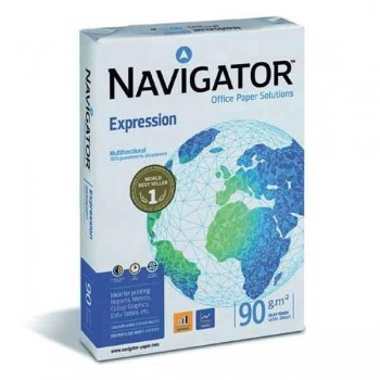 Pack 500h papel navigator 90gr A4