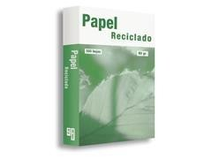 Pack 500h papel reciclado 80gr A4