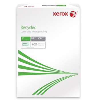 Paquete 500h papel Xerox Reciclado 80 gr A4