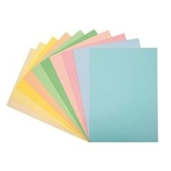 Paquete 100h papel color Fixo Paper A4 80gr rosa
