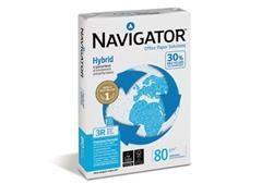 Pack 500h papel Navigator Hybrid 80gr A4