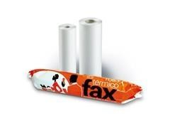 Rollo papel fax 21cmx15m mandril 12mm