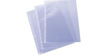 GRAFOPLAS Funda 16 taladro PP folio transparente galga extra (100)
