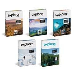 Paquete 250h papel explorer icolour 110gr A4