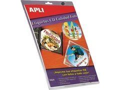 APLI Etiqueta inkjet / laser / copy multimedia adhesiva removible en A4