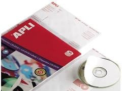 APLI Etiquetas inkjet / laser / copy para CD-DVD en A4 (varias)