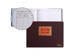 MR Libro cont. registro entrada/salida correspondencia folio apaisado 100h