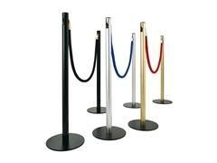PS Postes separador de cordon NEGRO (p)100x30cm