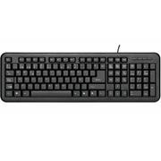UNYKA Teclado PS2/USB negro UK-8102 U+P
