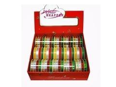 PRYSE Cintas de regalo surtidas colores metalizados en diferentes anchos