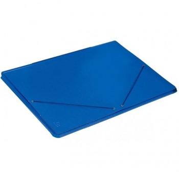 PAPIER Carpeta carton solapa con goma economica