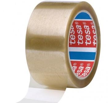 Pack 6 rollos Precinto tesapack  acrilico 66m x 50mm transparente