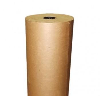 Bobina papel kraft marrón 110cm 25kg