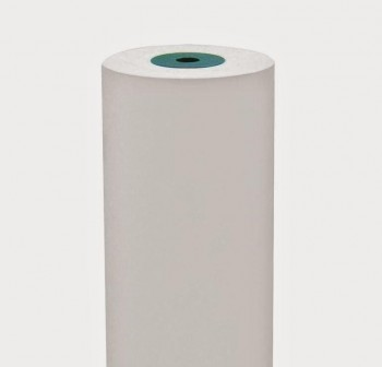 Bobina papel kraft blanco 110cm 25kg
