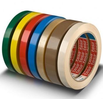 Cinta Tesa PVC 4204 66m x 12mm rojo