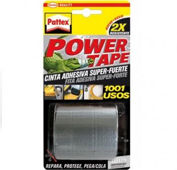Rollo Cinta adhesiva Pattex power tape 50mmx5m gris