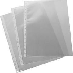 GRAFOPLAS Funda 16 taladro PP folio transparente galga XS (100)