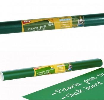 APLI Rollo adhesivo de pizarra verde 0,45x200cm