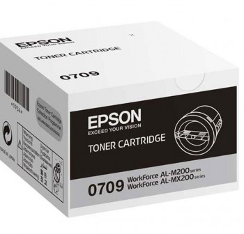 EPSON Toner laser C13S050709 original NEGRO (2,5k)
