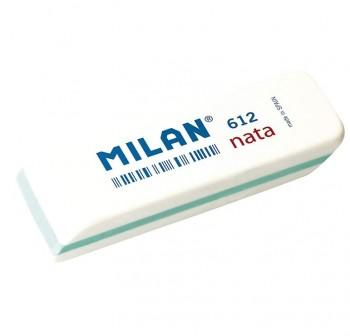 Goma de borrar Milan nata 612