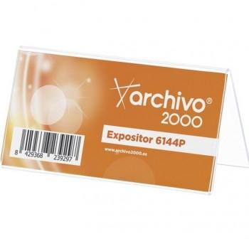 ARCHIVO2000 Portanombre mesa modelo 6144P (pequeño)