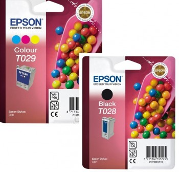 EPSON Cartucho inkjet T028 / T029 original