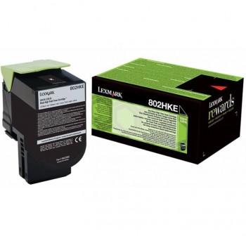 LEXMARK Toner laser 80C2HKE NEGRO original 4k