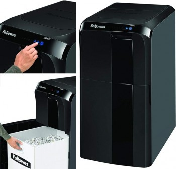 FELLOWES Destructora gran capacidad Fellowes AF300C corte micropartículas