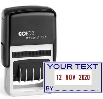 COLOP Sello preimpreso S-260/L3 24x45 automati