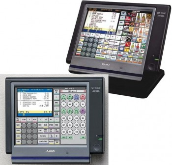 Casio Display de cliente para QT-6000 & BT-9100 Display Options QT/BT