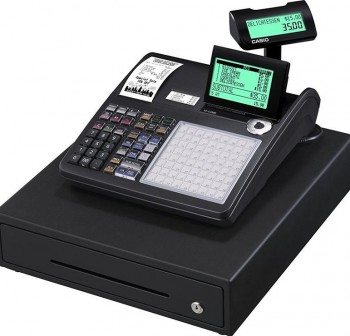 Caja Registradora CASIO SE-C3500 Negra / Cajón Grande Negro Mid - SE ECR Professional