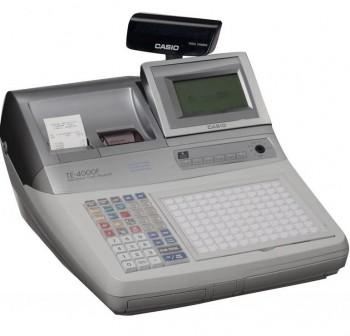 Caja Registradora CASIO TE-4000 Gris Mid - TE ECR Professional
