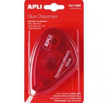 APLI Roller adhesivo 8mmx10m permant.usar/tirar