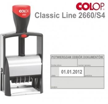 COLOP Sello preimpreso 2660/S4 lat.dech.37x58auto